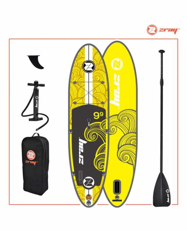 ZRAY SUP BOARD model X1. Надувная доска для sup-бординга ZRAY SUP BOARD  model  X1
